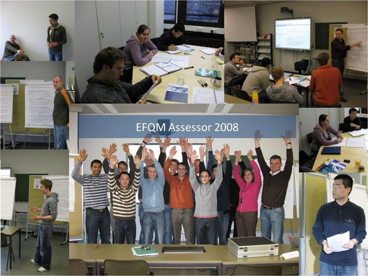 Training for EFQM assessor